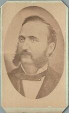 IRA DAVID SANKEY, GOSPEL SINGER, COMPOSER, EVANGELIST, BROOKLYN, 1875 CDV PHOTO
