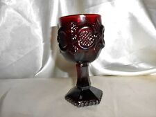 Vintage Avon 1876 Cape Cod Ruby Red Sherry Glass