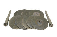 12pc 25mm Emery Diamond Wheel Cutter Suitable for Rotary Die Grinder Tool Dremel