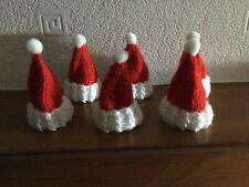 Ferrero Rocher. Santa hat covers x 6 - hand knitted