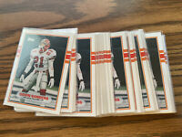 (35) 1989 Topps Traded Deion Sanders RC #30T Falcons Nr-MT+ Lot