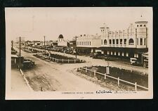 Australia YARRAM Commercial Rd Used 1929 RP PPC Rose Stereograph