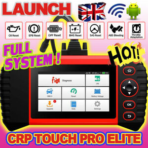 2021 Universal ALL System Diagnostic OBD2 Scanner Tool LAUNCH TOUCH PRO Elite UK
