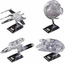 Bandai Star Wars 1/144&1/350&1/2700000 CLEAR VEHICLE SET Return of Jedi Ver.