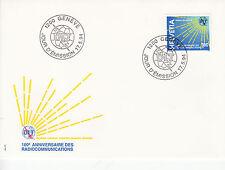 Schweiz  FDC Ersttagsbrief 1994 UIT/ITU 100 Jahre Radio  Mi.Nr.15