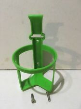 NUOVO ZEFAL verde in plastica WATER BOTTLE CAGE EROICA VINTAGE