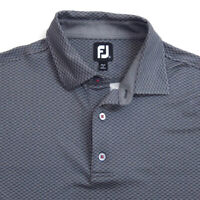FootJoy Mens Golf Polo Shirt Size XL Short Sleeve Gray