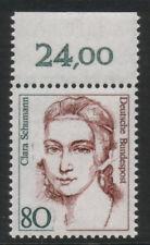 BRD Bund Nr. 1305 I postfrisch ** Plattenfehler - Fehlende Locke - Oberrandstück