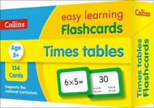 Times Tables Flashcards: Prepare for school with easy home learning Collins