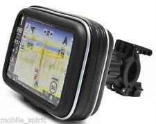 """Bike/Motorcycle Handlebar Mount & Case for Garmin Nuvi Magellan 3.5"""" 4.3"""" GPS"""