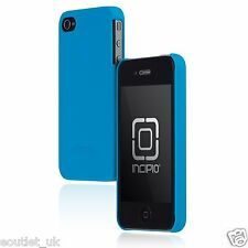 Genuine INCIPIO Feather Slim CASE for iPhone 4/4S Neon BLUE Retail NEW