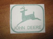 JOHN DEERE - VINYL STICKER - IN GREEN - NEW