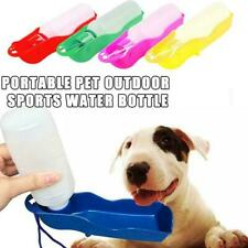 Pet Dog Cat Water Bowl Bottle Drinking Feeder Fountain Portable Travel Outdoor