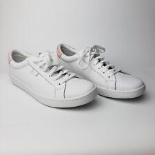 Keds Women Ace Leather Blush/White Shoes New Size 11 US
