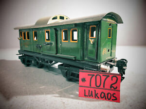MARKLIN   O SCALE PASSENGER CAR #18890 MADE IN GERMANY .DOORS AND ROOF OPEN.