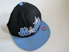 Official ORLANDO MAGIC Basketball NBA Hat/Cap Mitchell & Ness - 100% Wool - 62cm