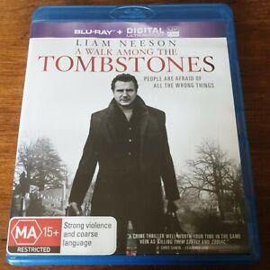 A Walk Among the Tombstones Blu-Ray LIKE NEW! FREE POST