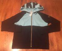 Victoria's Secret PINK Zip Front Hoodie Sweatshirt Size S Small NWT!!!