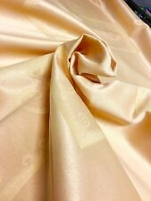 100% COTTON DAMASK CURTAIN UPHOLSTERY FABRIC 2.5 METRES