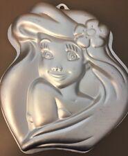 WILTON Disney Little Mermaid ARIEL Cake Pan 2105-4355 Princess Aluminum Baking