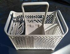 "9Ii39 Dishwasher Utensil Basket, 9-1/2"" X 9-1/2"" X 6"", No ""Holes"", Good Cond"