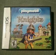 Playmobil Knights (Nintendo DS,3DS, 2010) Complete, tested