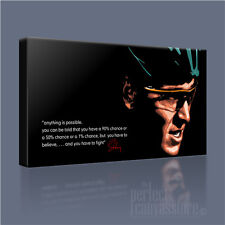 LANCE ARMSTRONG INSPIRING ICONIC CANVAS ART PRINT PICTURE & QUOTE Art Williams