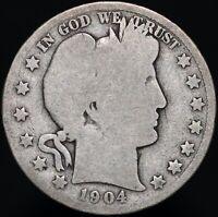 1904 O | U.S.A. Barber Half Dollar | Silver | Coins | KM Coins