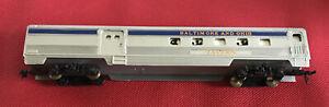 Tyco HO Train Car ~ Streamline Combine B&O Dual Lighted NOT TESTED