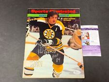 Phil Esposito Boston Bruins Autographed Signed Sports Illustrated JSA COA