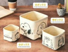Pack of 3 Snoopy Home Folded Storage Box Snacks Pens Box Makeup Box Case Holder