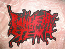 Pungent Stench Back Patch XXL Shape Patch EMBROIDERED Death REPULSION