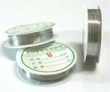 Copper Thread Cord Bracelet DIY Jewelry Making,etc.Copper,Gold,Silver,0.2-0.8mm