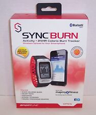 New! SyncBurn Fitness Band 24Hr Calorie Burn Tracker : Bluetooth Smart {2984}