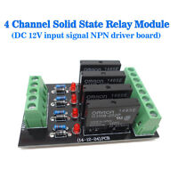 (US) Solid-state Relay 4 Control Panels Drive Plates Omron NPN 12V