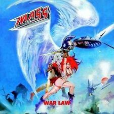 """MASS """"WAR LAW (RE-RELEASE INCL. BONUSTRACK)"""" CD NEU"""