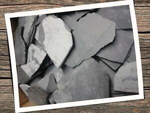 22kg Schiefer Platten 12 -23cm Beetplatten Bodenplatte Garten Schiefersteine