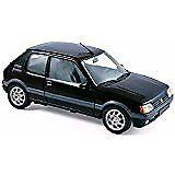 Véhicules miniatures noirs pour Peugeot 1:18