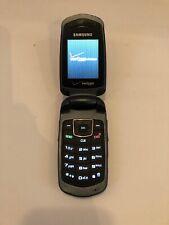 Samsung Smooth (Sch-U350) - Gray Blue (Verizon) Cdma Cellular Flip Phone