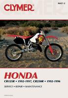 Honda CR125R 1992-1997 & CR250R 1992-1996 Repair Manual