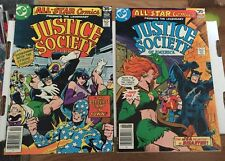 Justice Society Of America #71 And #72
