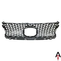 Front Center Upper Grille w/ Emblem Hole For 2014-2015 Lexus IS250 14-2016 IS350