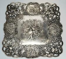 Hanau 800 Silver Footed Dish Storck & Sinsheimer Germany