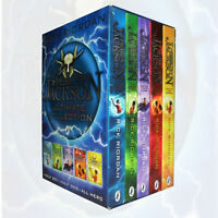 Percy Jackson Collection Complete Series 5 Books Set Brand New Free P & P