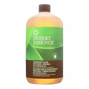 Desert Essence Thoroughly Clean Face Wash - Original | 32 fl oz | 1 Pack