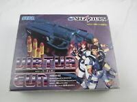 Sega Saturn Gun Controller with virtua cop Japan Ver Segasaturn A