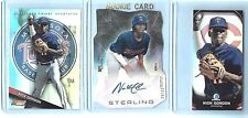 LOT OF (3) NICK GORDON ROOKIE CARDS! (1) 2014 TOPPS BOWMAN STERLING DIECUT #/50!