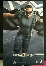 HOT TOYS 1/6 MMS245 Captain America Winter Soldier FALCON EXPOSED LIKE NEW