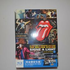 THE ROLLING STONES - SHINE A LIGHT -COLLECTOR'S BOX JAPAN BLU-RAY + T.SHIRT