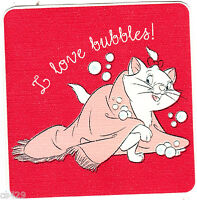 """4.5"""" Disney aristocats marie bubbles wall safe sticker border cut out character"""